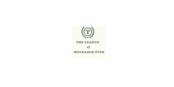 The League of Movable Type logo